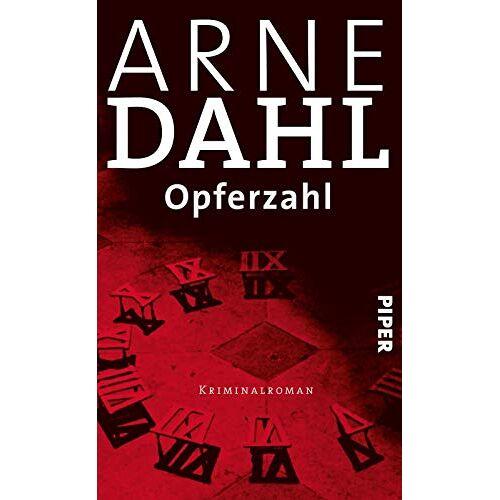 Arne Dahl - Opferzahl: Kriminalroman (A-Team, Band 9) - Preis vom 21.10.2020 04:49:09 h
