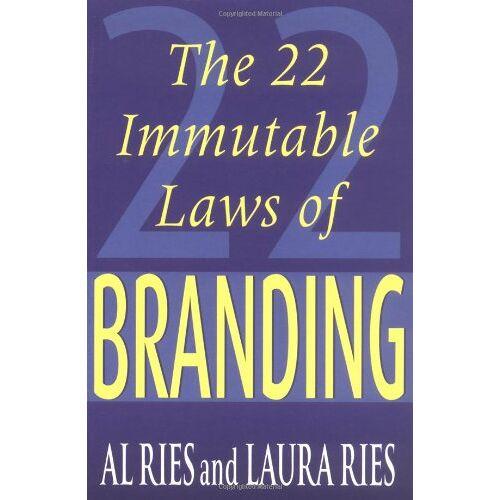 Al Ries - 22 Immutable Laws of Branding - Preis vom 23.01.2021 06:00:26 h