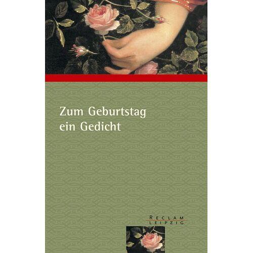 Mario Leis - Zum Geburtstag ein Gedicht - Preis vom 21.04.2021 04:48:01 h