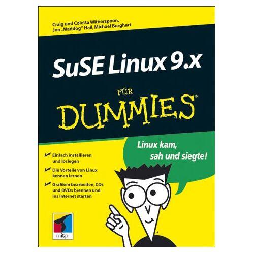 Hall, Jon Maddog - SuSE Linux 9 für Dummies. Linux kam, sah und siegte! - Preis vom 21.04.2021 04:48:01 h