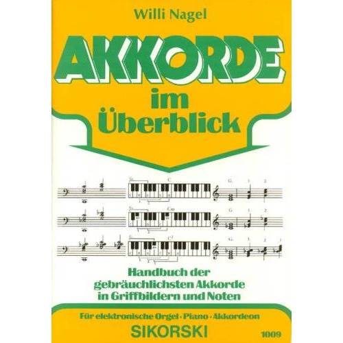 - Akkorde im Ueberblick. E-Orgel, Keyboard - Preis vom 20.10.2020 04:55:35 h