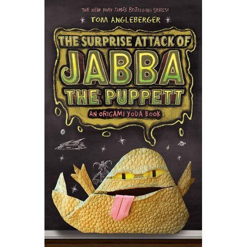 Tom Angleberger - The Surprise Attack of Jabba the Puppett (Origami Yoda Books) - Preis vom 20.10.2020 04:55:35 h