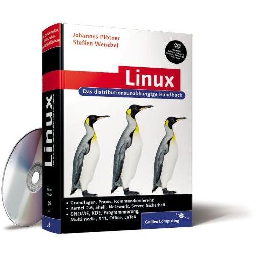 Johannes Plötner - Linux: Das umfassende Handbuch, inkl. BSD (Galileo Computing) - Preis vom 14.05.2021 04:51:20 h