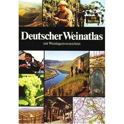 - Deutscher Weinatlas mit Weinlagenverzeichnis - Preis vom 04.08.2019 06:11:31 h