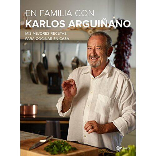 Karlos Arguiñano - En familia con Karlos Arguiñano : mis mejores recetas para cocinar en casa (Planeta Cocina) - Preis vom 20.10.2020 04:55:35 h