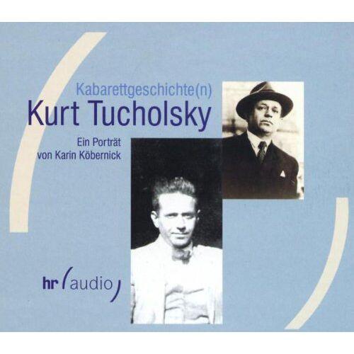 Kurt Tucholsky - Kabarettgeschichte(n), Kurt Tucholsky, 1 Audio-CD - Preis vom 20.10.2020 04:55:35 h
