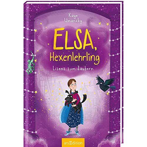 Kaye Umansky - Elsa, Hexenlehrling - Lizenz zum Zaubern (Elsa, Hexenlehrling 2) - Preis vom 17.04.2021 04:51:59 h