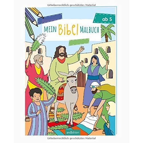 - Mein Bibel-Malbuch (Malbuch ab 5 Jahren) - Preis vom 01.12.2019 05:56:03 h