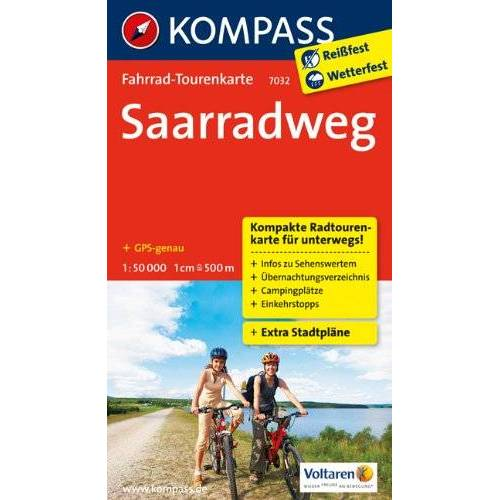 - Saarradweg: Fahrrad-Tourenkarte. GPS-genau. 1:50000. - Preis vom 20.10.2020 04:55:35 h