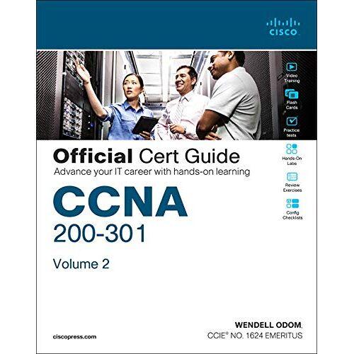 Bradley Edgeworth - CCNA 200-301 Official Cert Guide, Volume 2, 1/e - Preis vom 11.05.2021 04:49:30 h