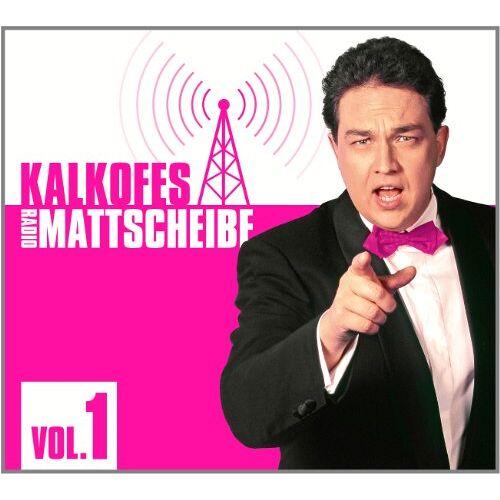 Kalkofes Mattscheibe - Kalkofes Radio-Mattscheibe Vol. 1 (3 CDs) - Preis vom 21.04.2021 04:48:01 h