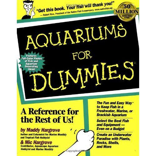 Maddy Hargrove - Aquariums for Dummies - Preis vom 18.04.2021 04:52:10 h