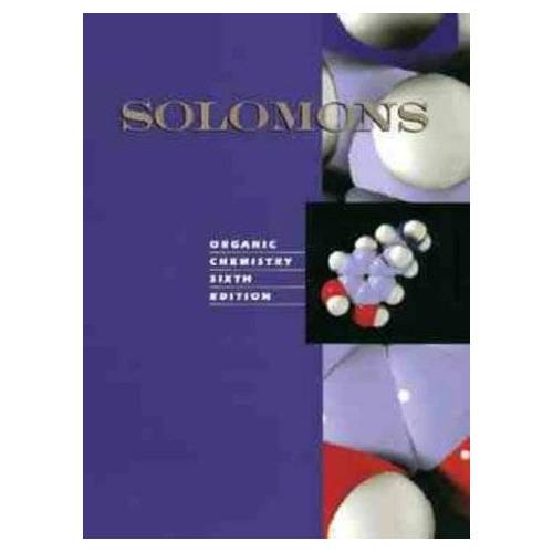 Solomons, T W - Organic Chemistry - Preis vom 15.04.2021 04:51:42 h