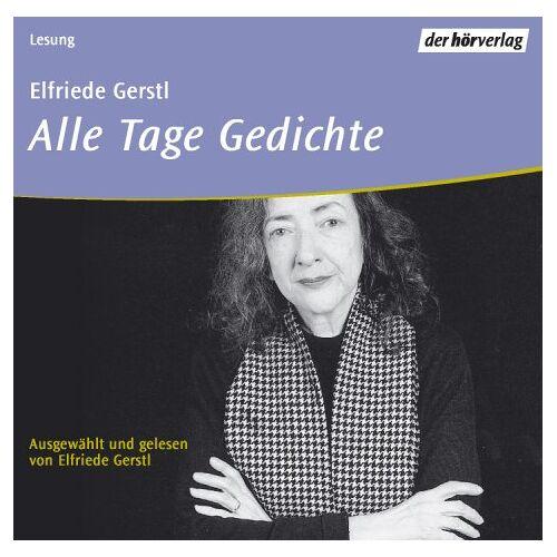 Elfriede Gerstl - Alle Tage Gedichte, 1 Audio-CD - Preis vom 20.04.2021 04:49:58 h