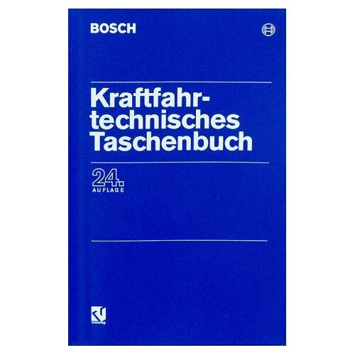 Robert Bösch - Bosch Kraftfahrtechnisches Taschenbuch. - Preis vom 01.12.2019 05:56:03 h