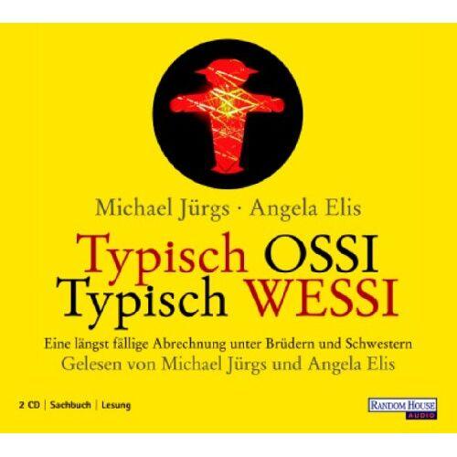 Michael Jürgs - Typisch Ossi -Typisch Wessi. 2 CDs - Preis vom 23.01.2021 06:00:26 h