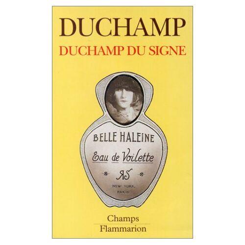 Marcel Duchamp - Duchamp Du SigneDuchamp du signe (Champs Art) - Preis vom 16.04.2021 04:54:32 h