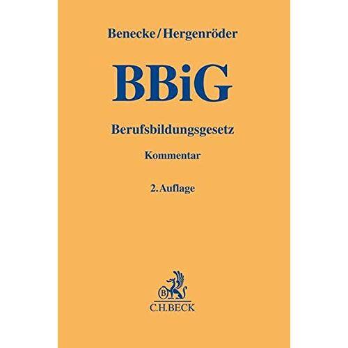 Martina Benecke - Berufsbildungsgesetz - Preis vom 13.04.2021 04:49:48 h