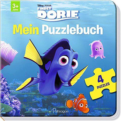 Disney - Disney Pixar Findet Dorie: Mein Puzzlebuch: Mit 4 Puzzles zu je 12 Teilen - Preis vom 03.05.2021 04:57:00 h