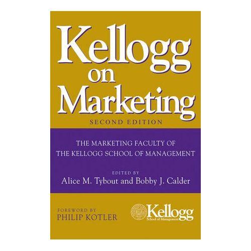 Alice Tybout - Kellogg on Marketing - Preis vom 23.02.2021 06:05:19 h