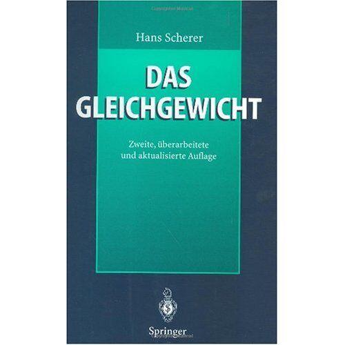 Hans Scherer - Das Gleichgewicht - Preis vom 14.05.2021 04:51:20 h