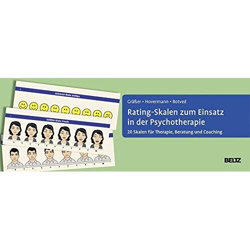 Melanie Gräßer - Rating-Skalen zum Einsatz in der Psychotherapie: 20 Skalen für Therapie, Beratung und Coaching - Preis vom 23.10.2020 04:53:05 h