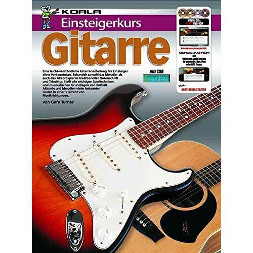 Gary Turner - Einsteigerkurs Gitarre (Buch/CD/DVD/Poster) - Preis vom 18.04.2021 04:52:10 h
