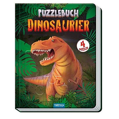 Trötsch Verlag GmbH & Co. KG - Trötsch Puzzlebuch Dinosaurier: 4 Puzzles - Preis vom 27.02.2021 06:04:24 h