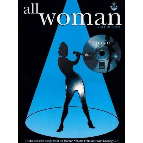 Alfred Publishing - All Woman, Vol 4: Piano/Vocal/Guitar, Book & CD - Preis vom 05.05.2021 04:54:13 h