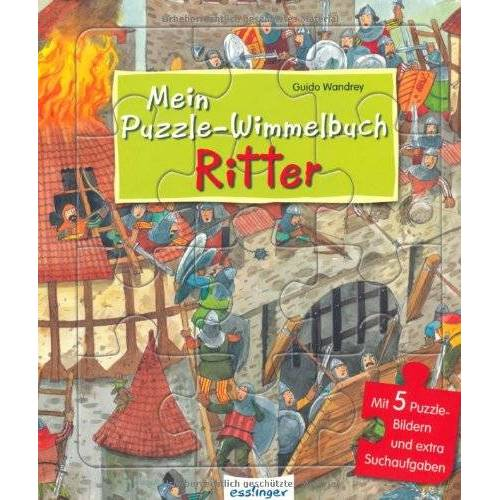 - Mein Puzzle-Wimmelbuch - Ritter - Preis vom 27.02.2021 06:04:24 h