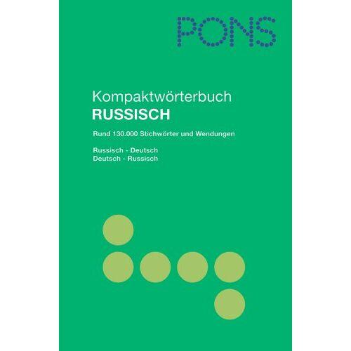 Renate Babiel - PONS Kompaktwörterbuch Russisch: Russisch - Deutsch / Deutsch - Russisch. Rund 130.000 Stichwörter und Wendungen - Preis vom 12.05.2021 04:50:50 h