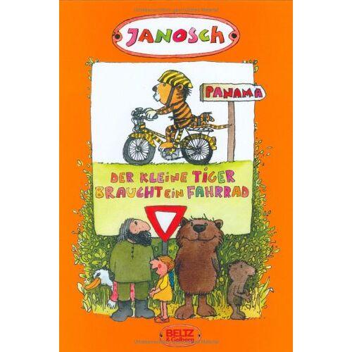 Janosch - Der kleine Tiger braucht ein Fahrrad: Die Geschichte, wie der kleine Tieger Rad fahren lernt - Preis vom 21.10.2020 04:49:09 h