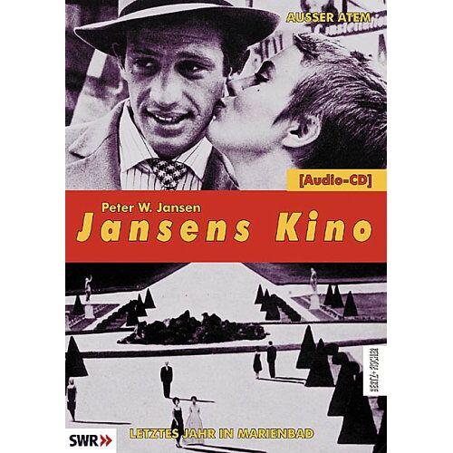 Jansen, Peter W. - Jansens Kino. Eine Geschichte des Kinos in 100 Filmen: Jansens Kino: Außer Atem / Letztes Jahr in Marienbad - Preis vom 13.05.2021 04:51:36 h