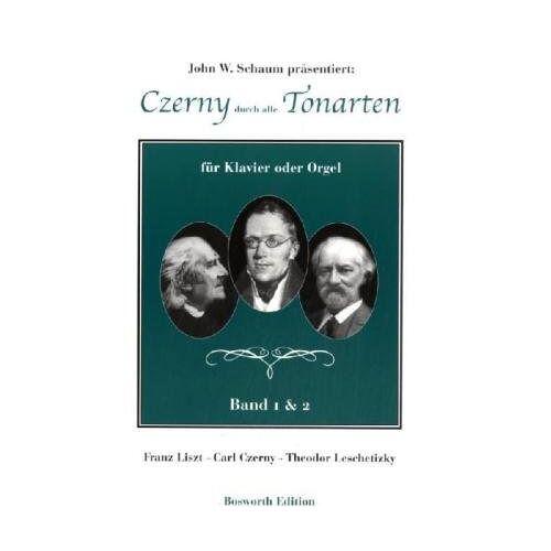 John Wesley Schaum - Czerny durch alle Tonarten für Klavier oder Orgel. Band 1 & 2 - Preis vom 05.09.2020 04:49:05 h