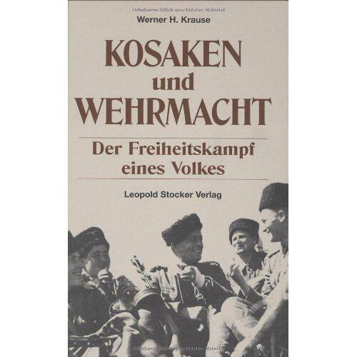 Krause, Werner H. - Kosaken und Wehrmacht - Preis vom 28.05.2020 05:05:42 h