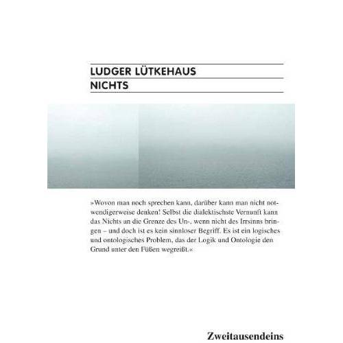 Ludger Lütkehaus - Nichts - Preis vom 15.04.2021 04:51:42 h