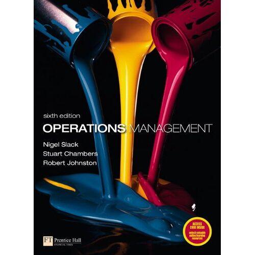 Nigel Slack - Operations Management - Preis vom 25.01.2021 05:57:21 h