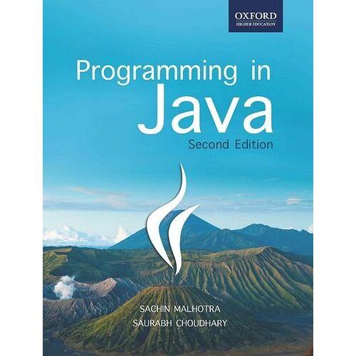 Sachin Malhotra - Programming in Java - Preis vom 27.02.2021 06:04:24 h