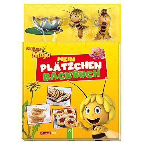 - Die Biene Maja - Mein Plätzchen-Backbuch: Mit 3 Ausstechförmchen - Preis vom 26.02.2021 06:01:53 h