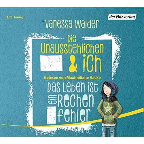 Vanessa Walder - Die Unausstehlichen & ich - Das Leben ist ein Rechenfehler: (Band 1) (Die Unausstehlichen & ich-Serie, Band 1) - Preis vom 06.04.2020 04:59:29 h