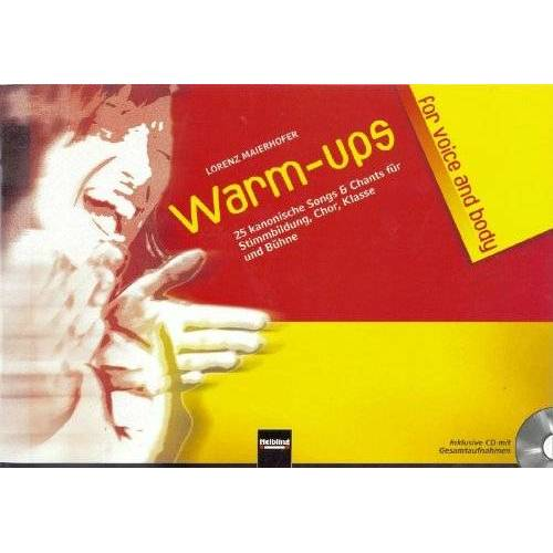Lorenz Maierhofer - Warm-ups for voice & body - Preis vom 06.09.2020 04:54:28 h