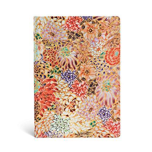 Lin. - Paperblanks - Michiko-Miniaturen Kikka - Notizbuch Midi Liniert - Preis vom 21.10.2020 04:49:09 h