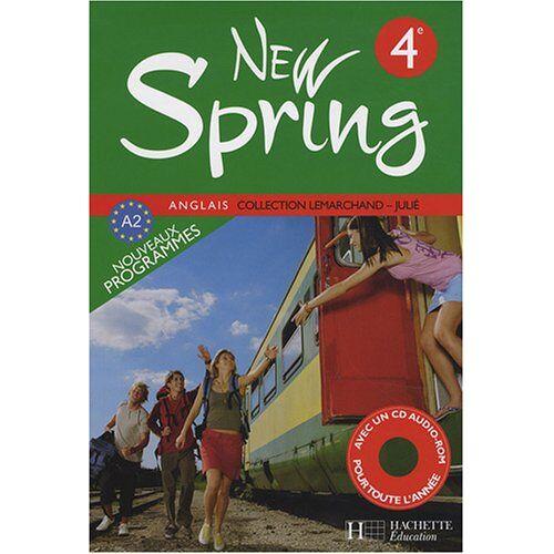 Françoise Lemarchand - Anglais 4e New Spring (1CD audio) - Preis vom 08.05.2021 04:52:27 h