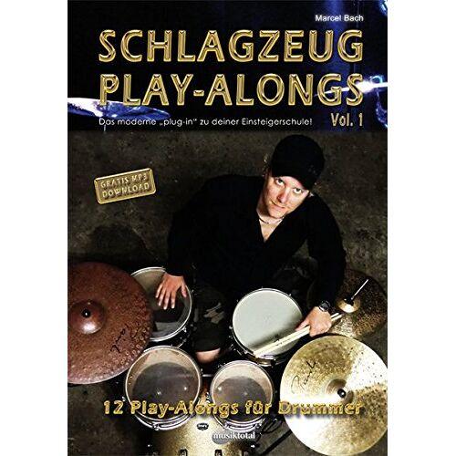 Marcel Bach - Schlagzeug PlayAlongs Vol.1: Das moderne Plug-In für Deine Schlagzeugschule!: 12 PlayAlongs für Drummer, das Moderne plugin für deine Einsteigerschule - Preis vom 03.03.2021 05:50:10 h