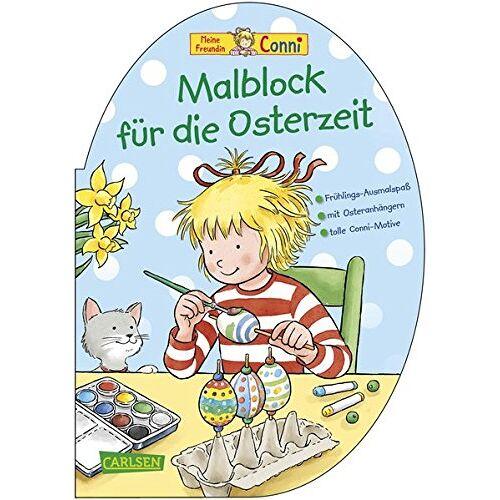 Hanna Sörensen - Malblock für die Osterzeit (Conni Gelbe Reihe) - Preis vom 24.01.2020 06:02:04 h