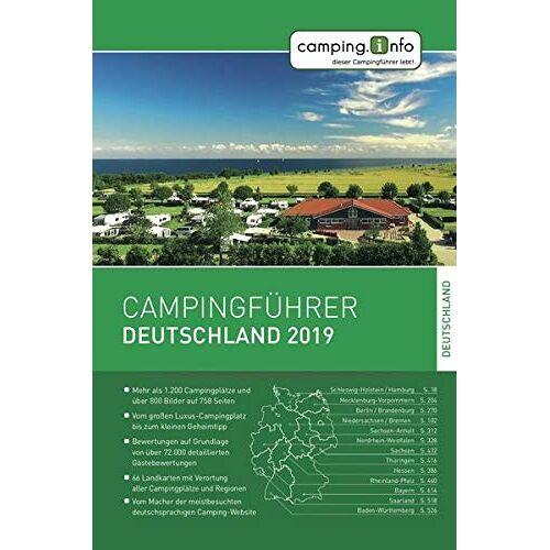 Camping.info GmbH - Camping.info Campingführer Deutschland 2019 - Preis vom 28.02.2021 06:03:40 h