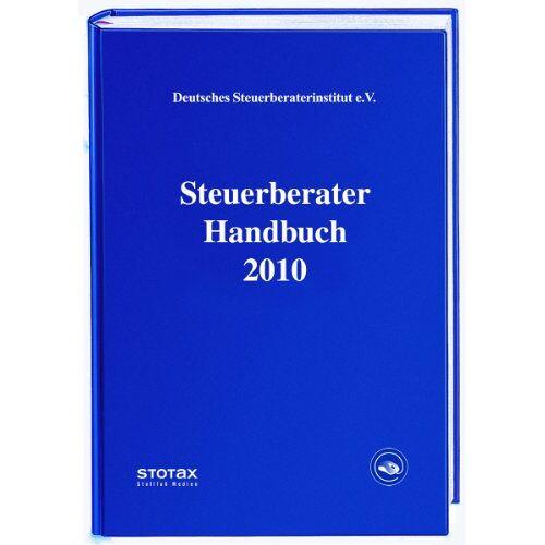 Deutsches Steuerberaterinstitut e.V. - Steuerberater Handbuch 2010 - Preis vom 21.10.2020 04:49:09 h