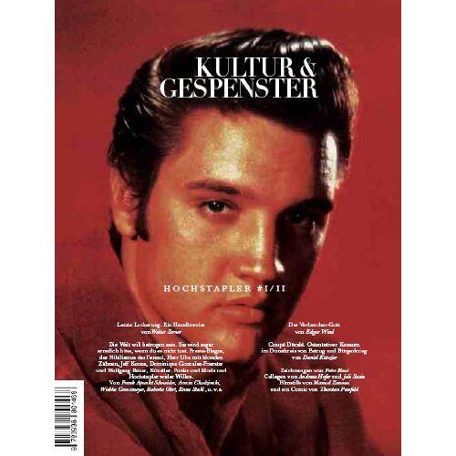 Walter Serner - Kultur & Gespenster / Hochstapler I/II - Preis vom 20.10.2020 04:55:35 h