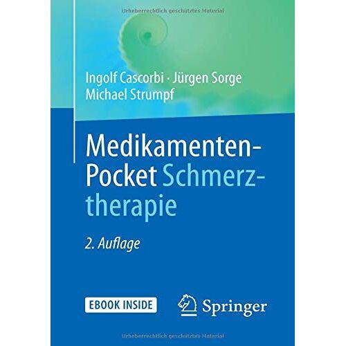 Ingolf Cascorbi - Medikamenten-Pocket Schmerztherapie - Preis vom 28.10.2020 05:53:24 h