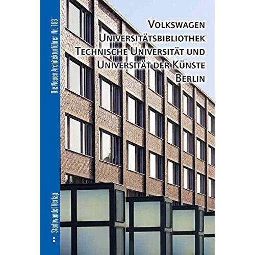 - Volkswagen Universitätsbibliothek, Technische Universität und Universität der Künste Berlin - Preis vom 05.09.2020 04:49:05 h